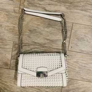 Michael Kors White Crossbody Purse